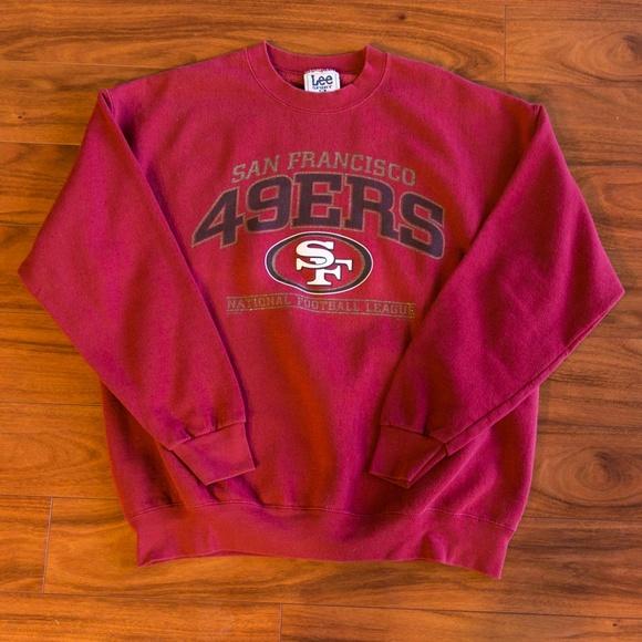 98a19c4d4a4 Vintage 90s NFL San Francisco 49ers Football. M 5bda349d8ad2f95562d6afca